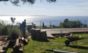 Rancho Palos Verdes Deck Installation 1