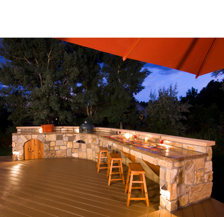 BBQ Pits & Outdoor Kitchens