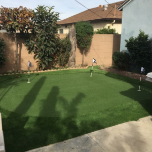 Putting Green Installation 12