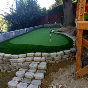 Putting Green Installation 2