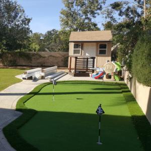 Putting Green Installation 7