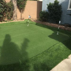 Putting Green Installation 9