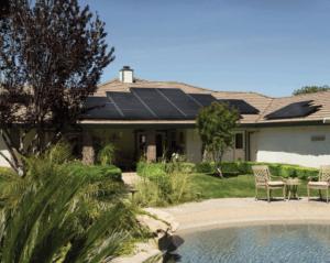 Solar Panels Roof