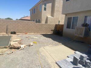 Backyard Renovation Lancaster, CA